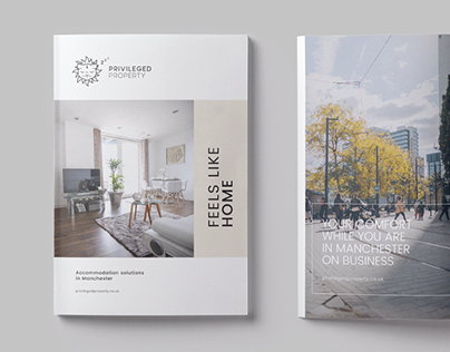 Brochure for accomodation solutions company
