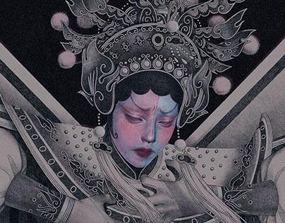 Hát bội - Đào Tam Xuân