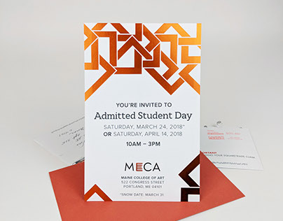 Admitted Students Day Invitation