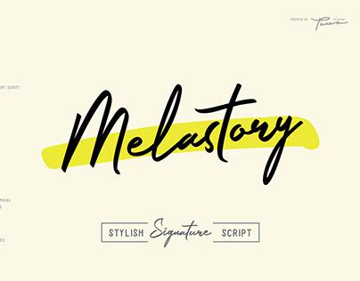 Melastory Script Font