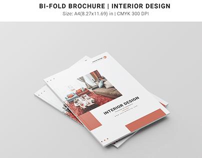 Bi-Fold Brochure   Intertior Design
