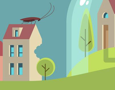 Pest Control Resources - Hero Banner Illustration
