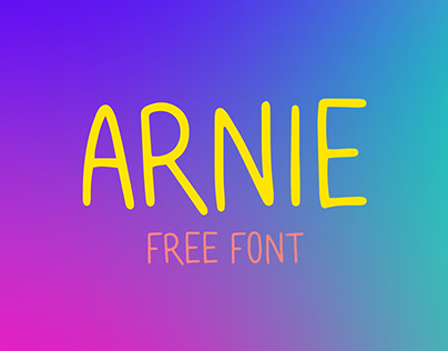 arnie typeface (free)