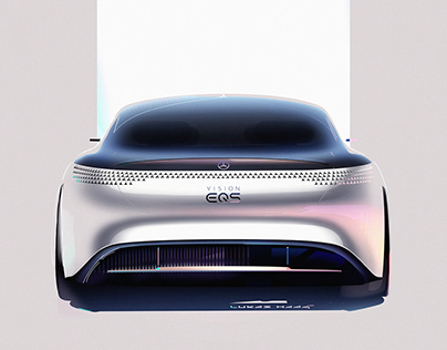Press Sketches Mercedes Vision EQS (2019)