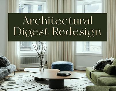 Architectural Digest ❘ News Portal Redesign