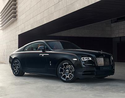 Rolls Royce - Wraith Black Badge Photoshoot