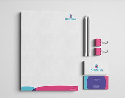 Kidzplus   identity design