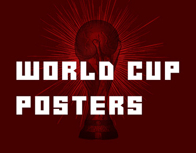 WORLD CUP 2018 POSTERS