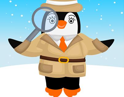 Matching Game Polly de Pinguin
