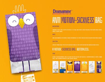 ANTI MOTION-SICKNESS BAG by Dramamine