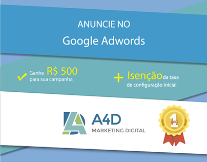 Banners Adwords - Google + A4D