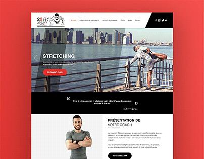 2BFit CI and webdesign