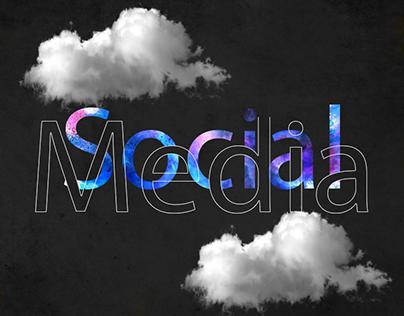 Various works of social media designs
