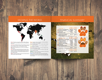 WWF Annual Report Redesign