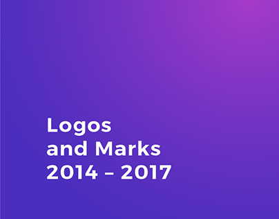 Logos and Marks 2014 – 2017