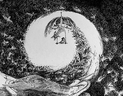 Paura, Natura e Studio - Illustrazioni