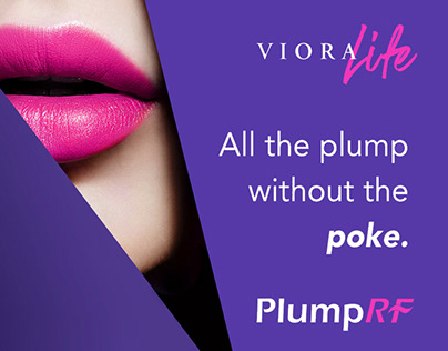 Viora B2B/B2C Marketing Campaign for Lip Plumping