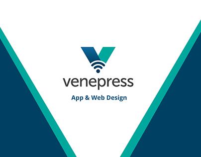Venepress App & Web Design