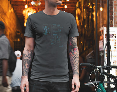 Life at HDR - Intern Shirts