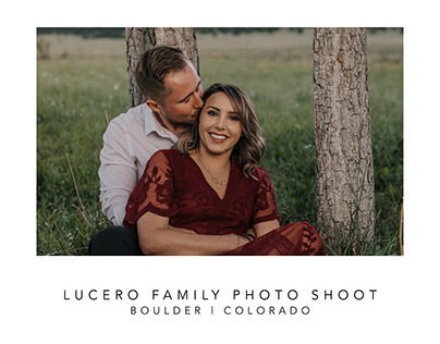 Lucero Anniversary Family Photo Shoot