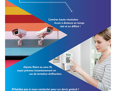 Flyer pour Alarmes Technologies