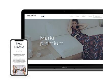 NewClassic / Strona WWW