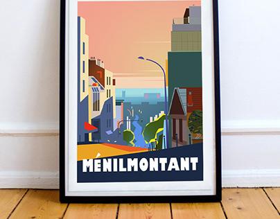 Ménilmontant - Paris 20ème
