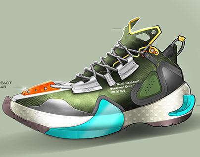 A basketball shoe_UPDATED