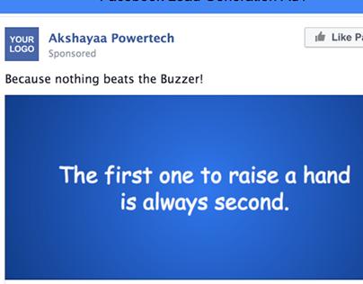 Product - Buzzer   Dummy FB Lead Ads