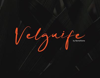 Velguife Script Font