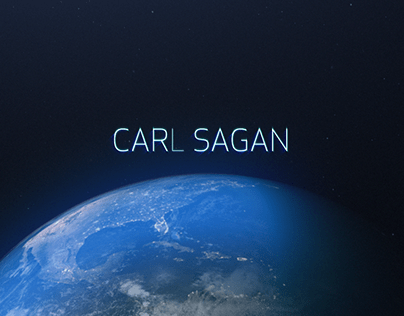 Sci-fi Carl Sagan