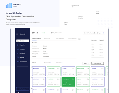 CRM System For Construction Companies