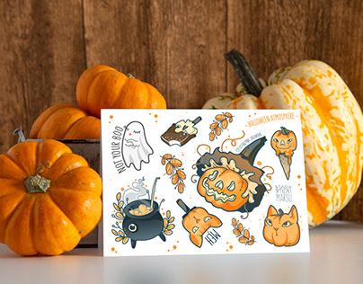 Halloween stickers..BOO :)