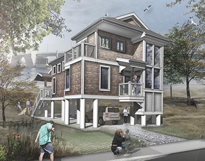 Potential Home Design // Mantoloking, NJ