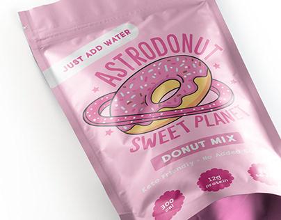 Astrodonut Shoppe - Branding