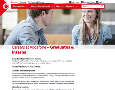 2017 Vodafone Careers