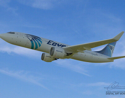 3D EgyptAir Flight