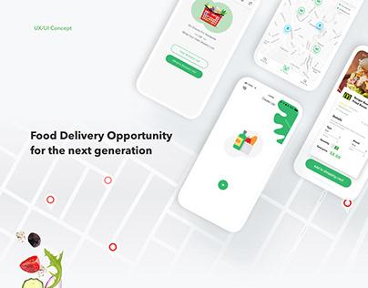 FoodHub App UI design