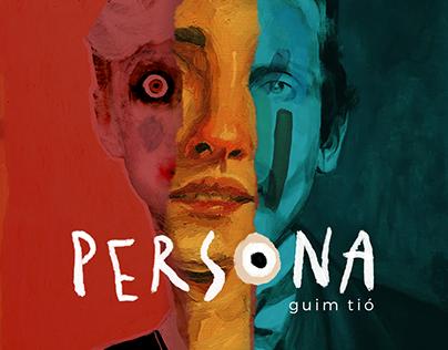 Persona - Guim Tió | Identidade Visual e Expografia