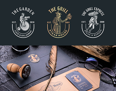 The Grill Restaurants Group Branding