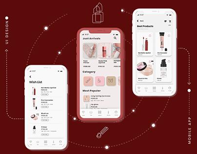 Case Study Make-up Shopping App