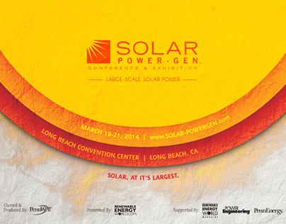SOLAR POWER-GEN - 2014 event campaign
