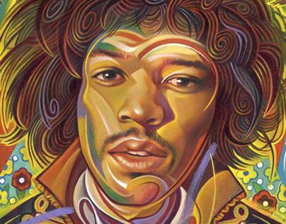 USPS Postage Stamp: Music Icons: Jimi Hendrix