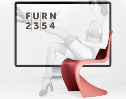 Landing page for shop designer furniture