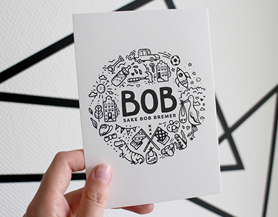 Baby Bob's birth announcement