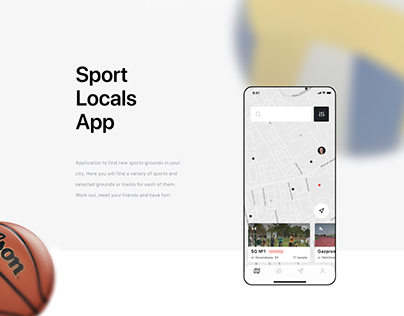 Sport Locals App