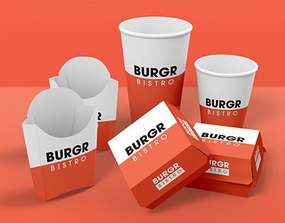 Burgr Bistro Branding Design Project