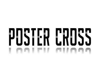 Poster Cross Font