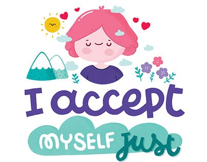 I accept myself just as I am