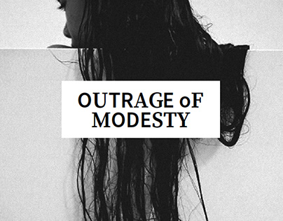 OUTRAGE OF MODESTY | AN ODE TO ARAKI